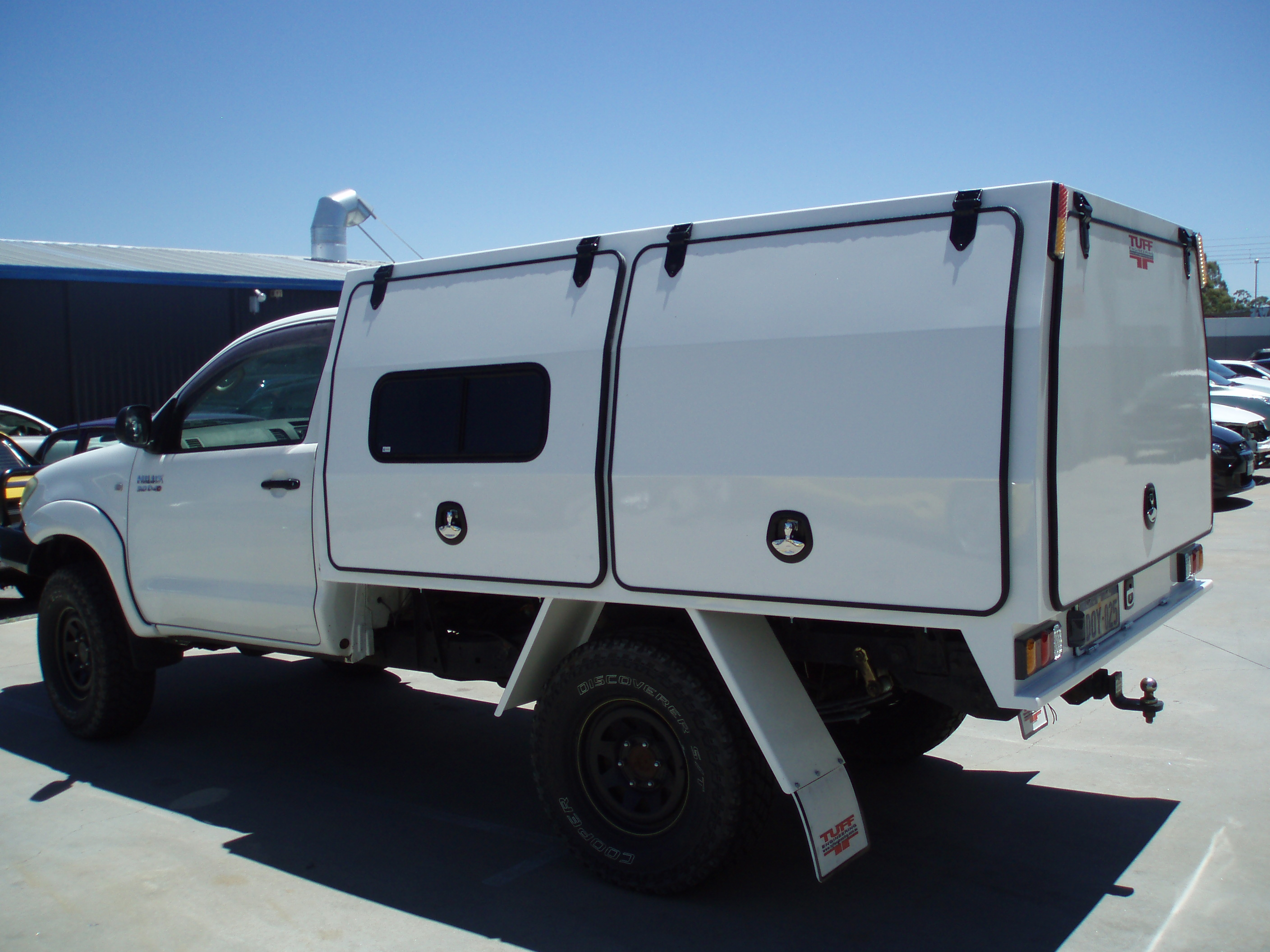 Ute service bodies- Tuff Engineering